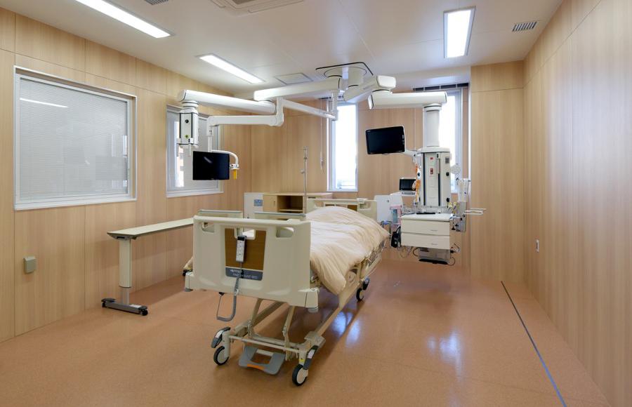 2階 ICU室